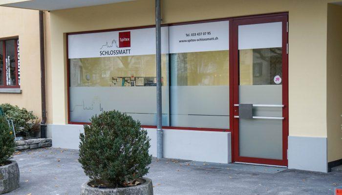 Foto Geschäftsstelle Spitex Schlossmatt Thun Bertner Oberland